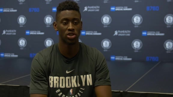 Caris LeVert: It was cool to get drafted at Barclays Center
