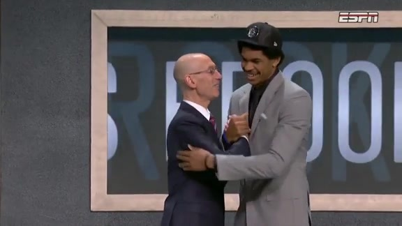 Jarrett Allen reflects on his Draft Night