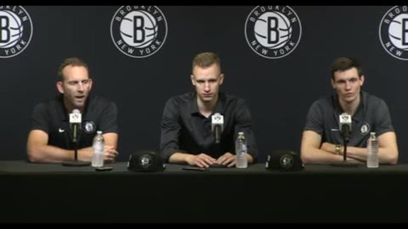 2018 Nets Draft Press Conference