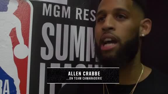 Summer League Sound Bites: Allen Crabbe