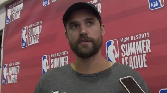 Summer League Sound Bites: Joe Harris