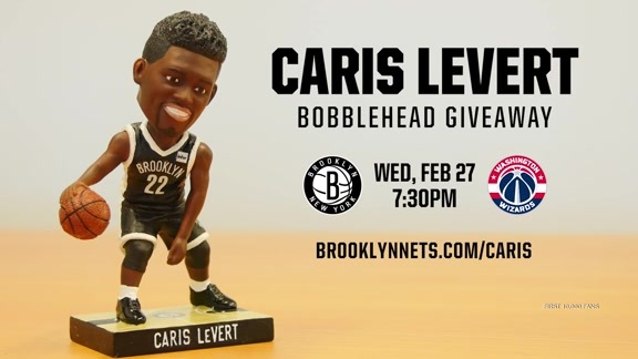 Caris Reaction to His Bobblehead