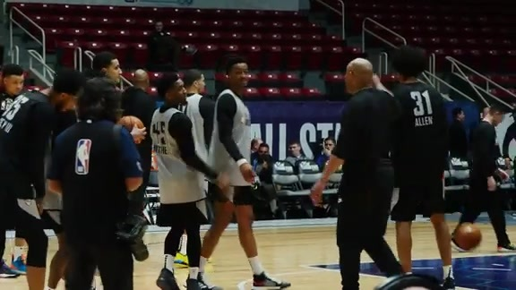 Watch Rodi and Allen at the Rising Star Practice