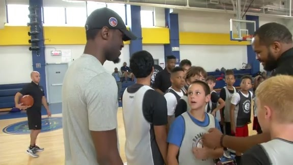 Nets Basketball Academy Camp Featuring Theo Pinson