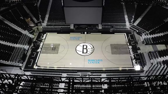 Creating The Court Brooklyn Nets