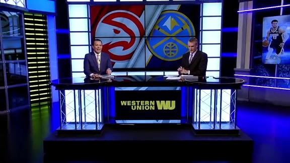 Western Union Game Preview: Nuggets vs Hawks