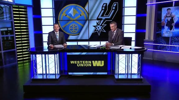 Western Union Game Preview: Nuggets at Spurs