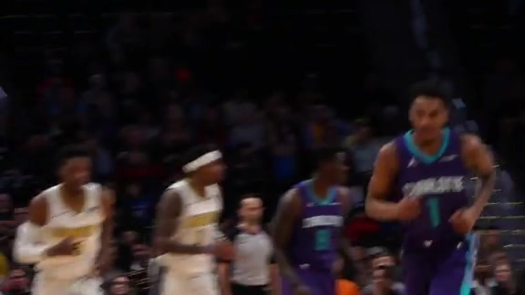 Highlights: Nuggets vs Hornets