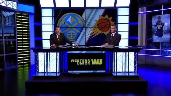 Western Union Game Preview: Nuggets at Suns