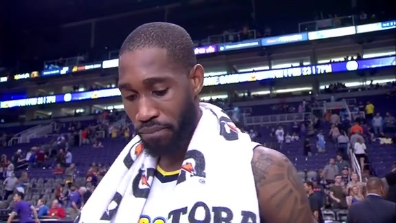 Will Barton After Posting 25 Points On Court