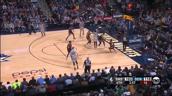 Toyota Game Recap: Nuggets vs. Spurs