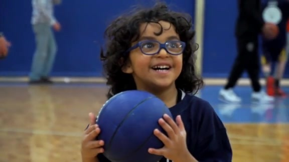 Nuggets Host Special Olympics Clinic