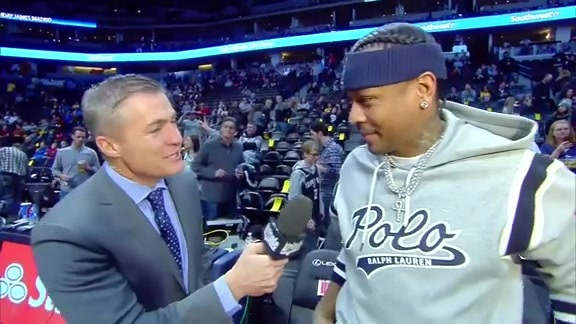 Martin, Camby and Iverson Interviews