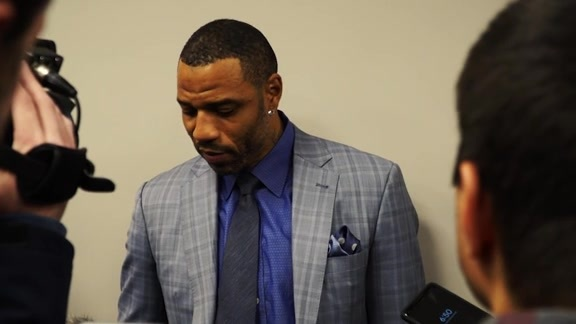 Kenyon Martin Speaks to Media Prior to 2000s Night