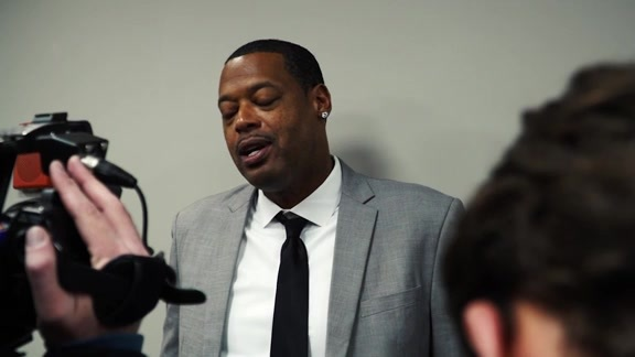 Marcus Camby Speaks to Media Prior 2000s Night