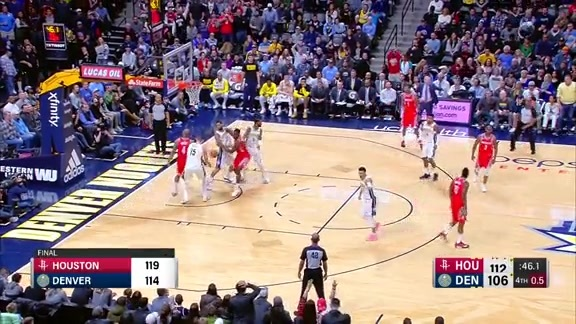 Toyota Game Recap: Nuggets vs. Rockets
