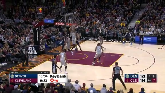 Toyota Game Recap: Nuggets at Cavs