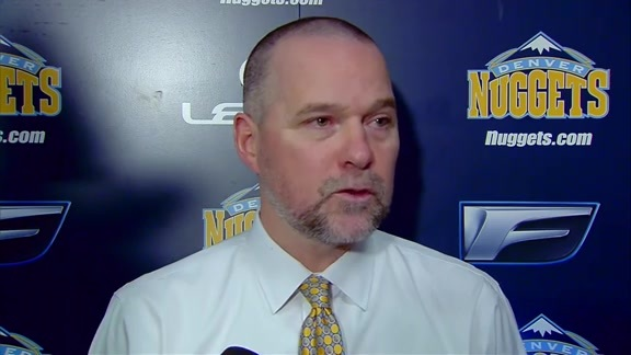 Coach Malone on the Nuggets Big Win Over the Kings