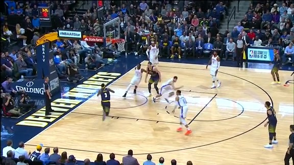 Xfinity Play of the Game: Nuggets vs. Thunder