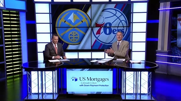 Toyota Game Recap   Nuggets at 76ers