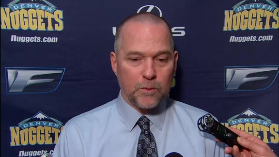 Michael Malone Post-Game