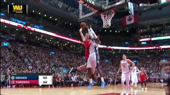 Toyota Game Recap: Nuggets at Raptors