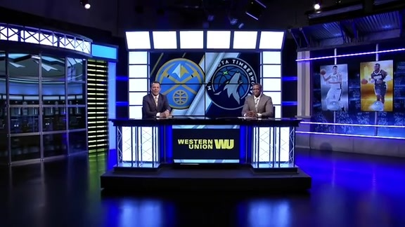Western Union Game Preview: Nuggets at Timberwolves