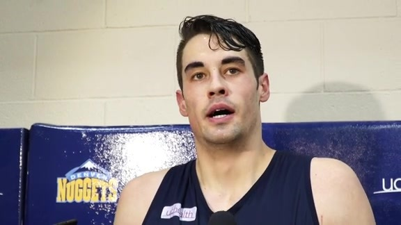 Denver University's Daniel Amigo on Working Out for Nuggets