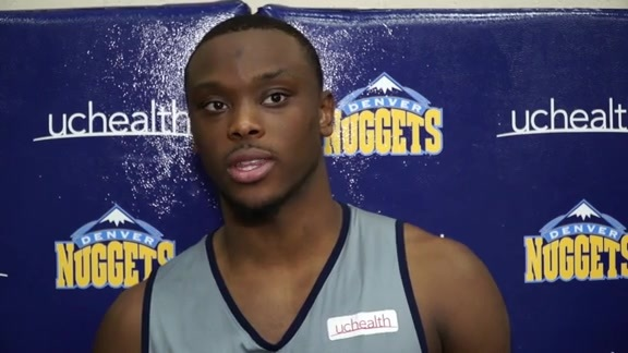 Mustapha Heron on the Altitude Adjustment and Deciding on Entering the Draft