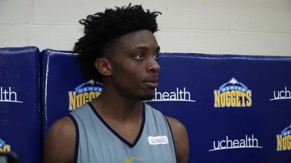 Tyler Cook Speaks to Media Following Pre-Draft Workout