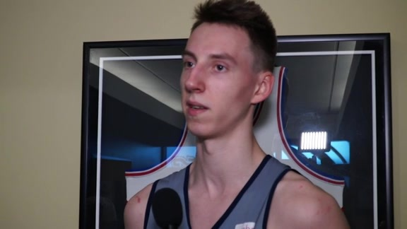 Arnoldas Kulboka on Workout, Pre-Draft Process, Watching Arturas Karnisovas Play