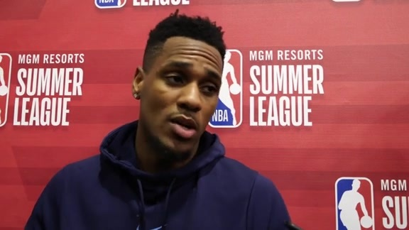 Monte Morris on his First Competitve Game of the Summer