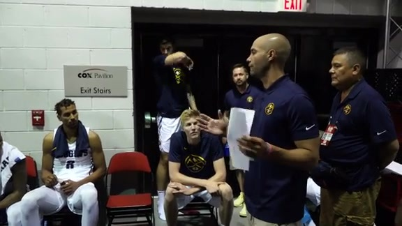 Highlights from the Summer League Win over the Celtics