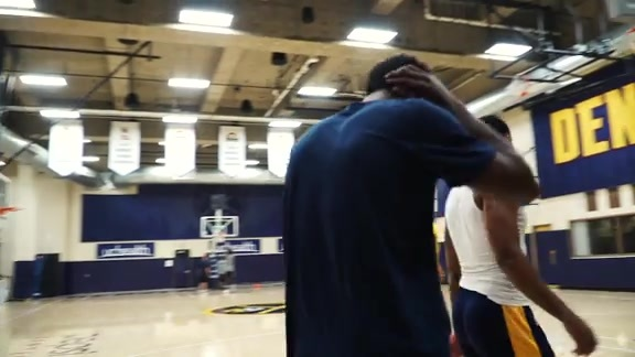 Nuggets Offseason Workout: August 2