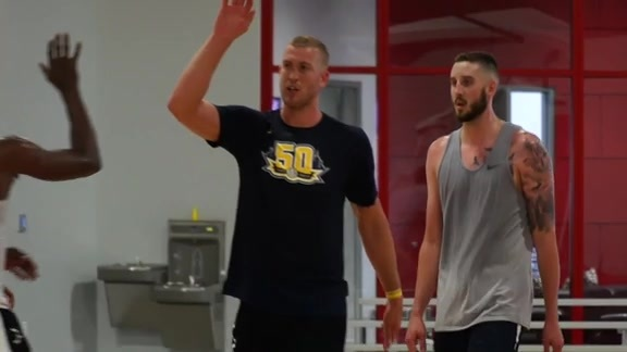 Nuggets Participate in Voluntary Workouts in Atlanta