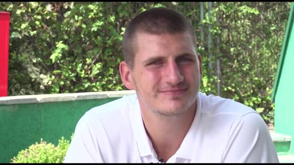 Nikola Jokić Interview at Basketball Without Borders
