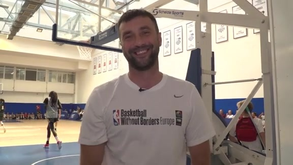 Player Development Coach Ognjen Stojakovic on Basketball Without Borders