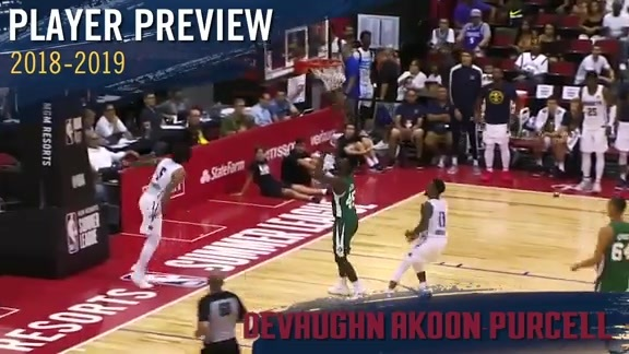 2018-19 Player Previews: DeVaughn Akoon-Purcell