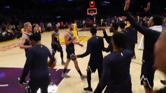 Highlights: Nuggets Take Down Lakers