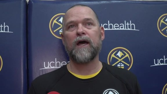 Coach Malone on the First Practice in Denver