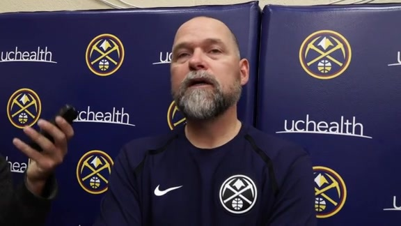 Michael Malone Post-Practice