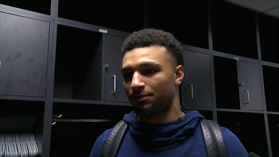 Jamal Murray on Getting the Win