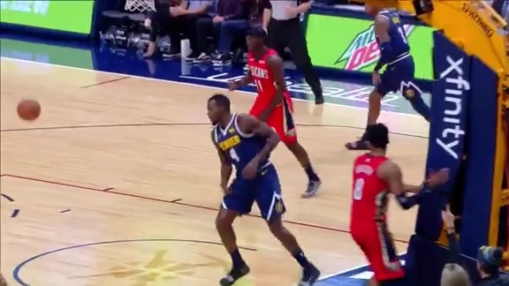 Xfinity High Speed Highlights: Nuggets vs. Pelicans