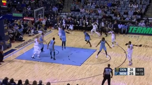 Halftime Highlights Against Grizzlies