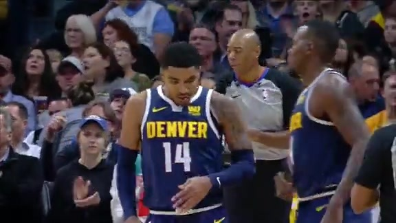 Xfinity High Speed Highlights: Nuggets vs. Jazz