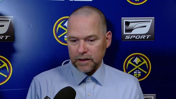 Coach Malone Post-Game vs. Rockets