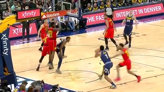 Halftime Highlights: Nuggets vs. Hawks