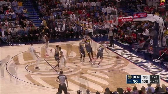 Toyota Game Recap: Nuggets at Pelicans