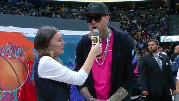 Chris Andersen Halftime Interview