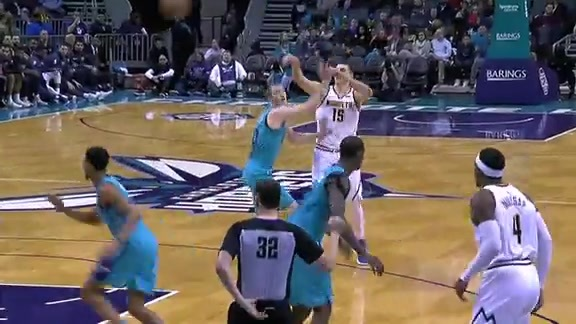 Juancho Against Hornets